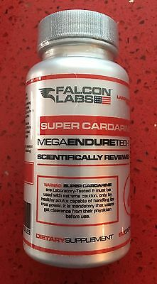 Falcon Labs Super Cardarine Gw  60 Caps New Glucose Uptake Hardcore Fat Burner