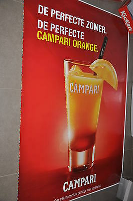 affiche grand format de perfecte Campari orange in nl 176 x 118 cm poster