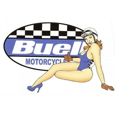 BUELL left Sticker pin up gauche