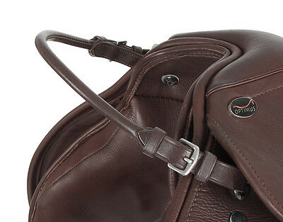 NEW Shires Leather Balance Strap / Security Grab Handle - Attach To Saddle
