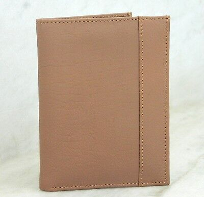 Genuine Leather Passport Holder and Bussiness Credit Card Travel slim Case gift