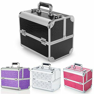 Make Up Box Extra Large Space Storage Nail Jewelry Cosmetic Vanity Beauty Case