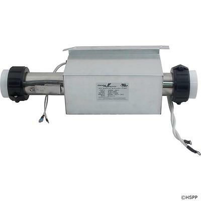 "ACC STMD1000 Spa Heater Assembly Flow Thru 5.5kW 230V 2/""x12/"" C2550-1004"