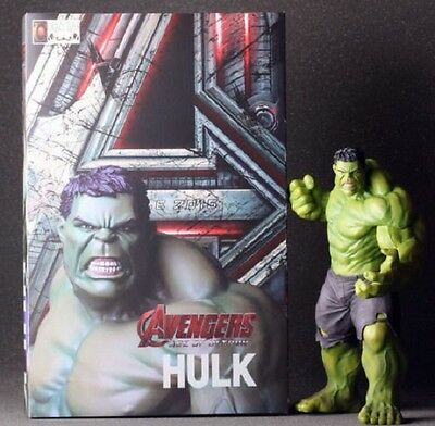 The Avengers Age of Ultron Series Incredible Hulk Fine Art Statue Figure Boxed