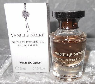 Yves rocher Vanille Noire    5 ml edp  Free shipping worldwide