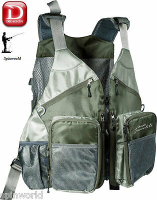 DRAGON Tech Pack fishing Vest