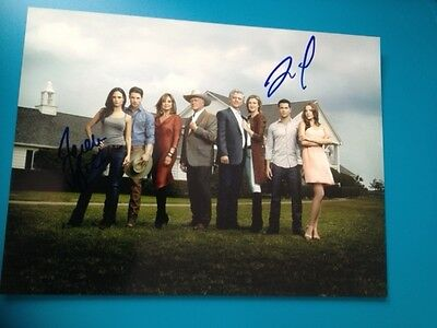 Original Autograph of Jesse Metcalfe & Jordana Brewster (In Person) Dallas