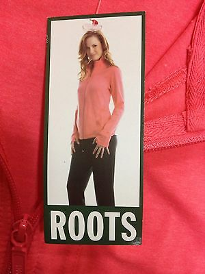 New Roots Size M Full Zip Sweater Jacket Women