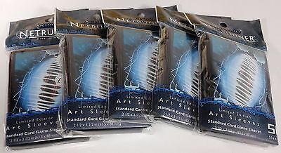 5 packs of Netrunner Limited Edition Snare Android Art Sleeves