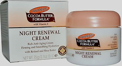 Palmers Cocoa Butter Formula With Vitamin E Night Renewal Cream 75g / 2.7oz