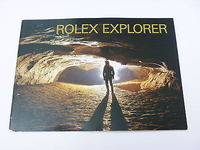 ROLEX EXPLORER Watch Instruction Booklet Manual FR 1999 - FREE SHIPPING