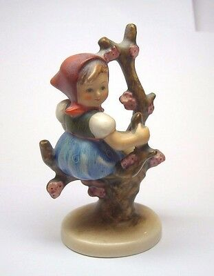 Mj Hummel Apple Tree Girl #141 Tmk-2 Full Bee 1956-1958 By Goebel 4.25""