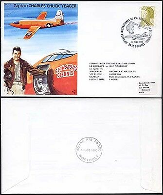 TP31a Captain Charles Chuck Yeager Standard Cover