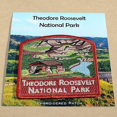 Official Theodore Roosevelt National Park Souvenir Patch North Dakota