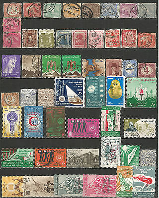 Egypt from 1893 year nice COLLECTION   mint/used stamps