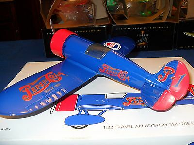1993 Revell-Monogram Pepsi-Cola # 1 1/32 Scale Travel Air Mystery Ship Die-Cast