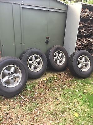 Jeep Alloy Wheels And Tyres 265/70R15