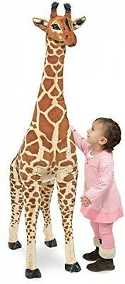 Large Giraffe Soft Toy Cute Kids Animal Huge Plush Jumbo Realistic Baby Stuffed