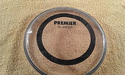 """Premier """"DS Batter"""" 6"""" twin ply clear drum head. New."""