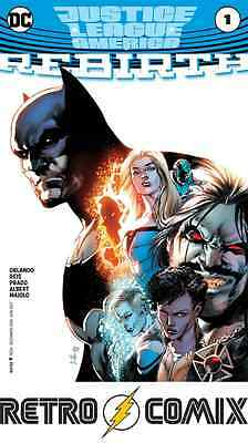 Dc Justice League Of America Rebirth #1 First Print New/unread Bagged & Boarded