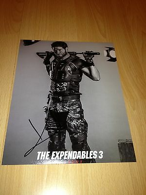 Original Autograph of Kellan Lutz (In Person) The Expendables 3, Twilight