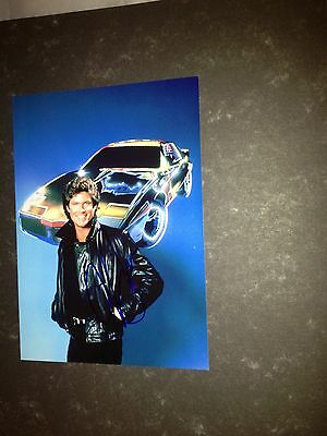 Original Autograph of David Hasselhoff (In Person) Baywatch, Knight Rider