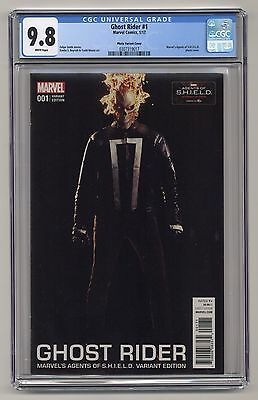 Ghost Rider #1 ~ Photo Variant Cover ~ CGC 9.8 ~ Marvel