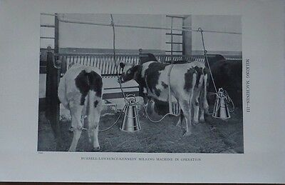 Print Burrell-Lawrence-kennedy Milking machine 1912