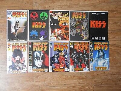 Kiss  Large Lot Of 105 Comics Incl Marvel Special And Comicon Exclusive Few Dups