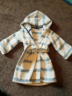 the little white company boys dressing gown 18-24 months