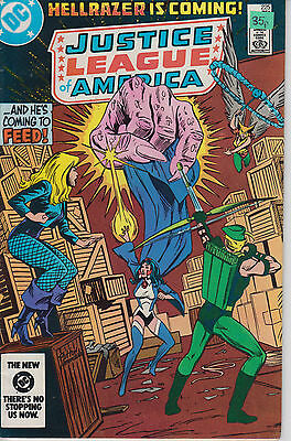 Justice League of America 225 - 1984 - Black Canary - Very Fine +