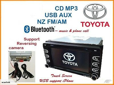 Genuine Toyota Touch Screen Bluetooth USB AUX Rev Camera Stereo CD player