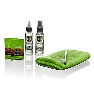 New! BREAKTHROUGH Cleaning Kit Solvent, High Purity Oil, Grease Towel BT-101