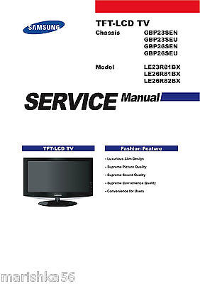 samsung tv service manuals and schematics on 5 dvd 29 95 picclick rh picclick com Samsung Schematics Wa40j3000aw A2 Samsung Owner's Manual