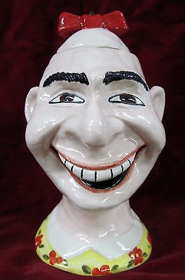 SCHLITZIE Freaks Sideshow Circus ORIGINAL ART Sculpture CERAMIC TIKI MUG BOWL