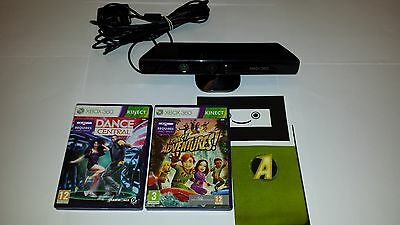 Kinect Sensor for XBox 360 With power adaptor  + 21  games