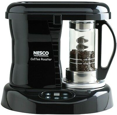 Nesco Coffee Bean Roaster, Patented Catalytic Converter, Pre-Set Digital Control