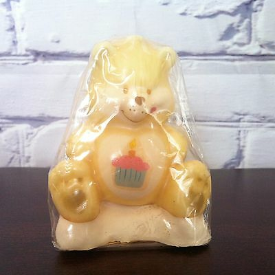 Vintage Care Bears collectable candle Birthday Bear - Rust Craft Inc.