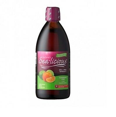 Sea-licious omega 3 - tangerine lime  250ml