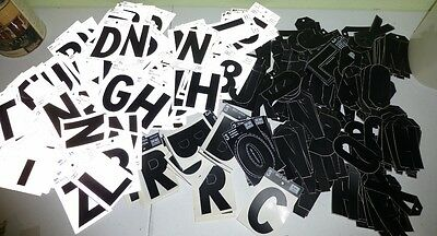 """HUGE Lot 3"""" Letters Over 375 - Displays Sign Making  Hardware Closeout"""