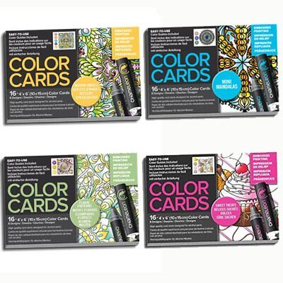 Chameleon Art - Colour Note Cards & Embossed Colour Cards