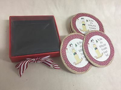 12 Holiday Diet Coasters