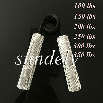 NEW! Metal Metal Hand Grip Grippers Forearm Strengthener Palm Grippers