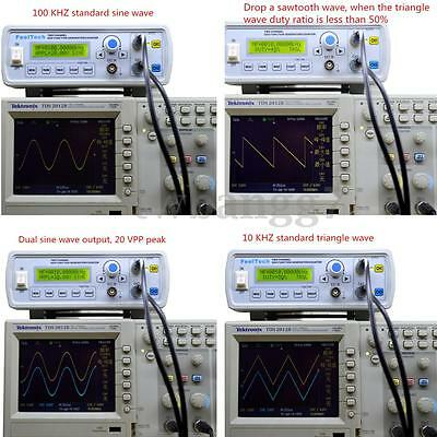 2MHz DDS Function Signal Generator Sine/Square Wave+ Sweep + Frequency Meter New