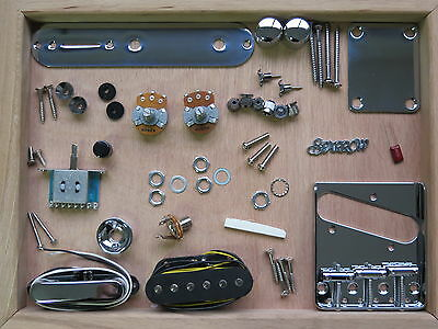 Telecaster Parts Assembly Kit - Electric Guitar Parts Set