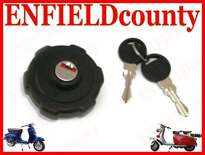 Brand New Vespa Complete Fuel Tank Lock System With 2 Keys New Moels @cad