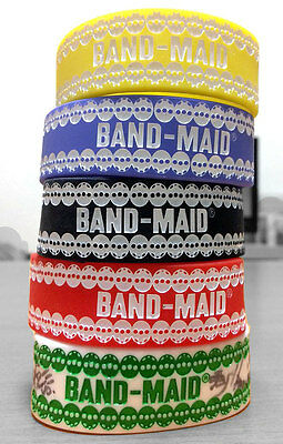 BAND MAID Japan Tour Official Rubber Wristband Bracelet baby metal scandal tee