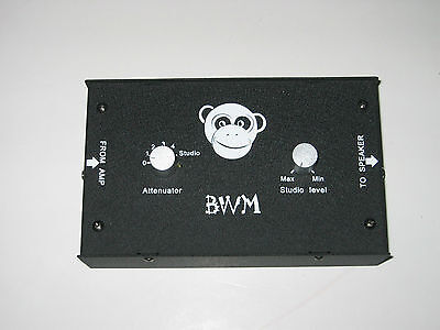 BWM 100watt NON OHM SPECIFIC ATTENUATOR & 2 FREE 1M 18 AWG SPEAKER PATCH CABLES