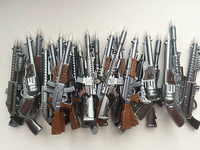 [Free shipping] NEW !Promotion!Gun Shape pens with Magnetism !! 30pcs