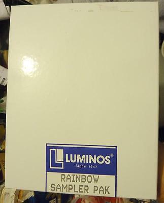 Luminos Rainbow Sampler Pack Black And White Photopaper About 45 8X10 Sheets